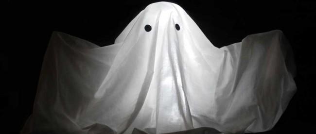 Halloween Gespenst, selbstgemacht