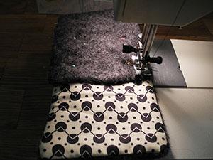 handytasche aus filz. Black Bedroom Furniture Sets. Home Design Ideas