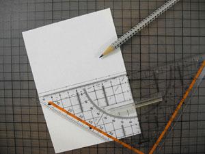 Schablone zeichnen