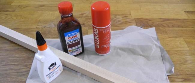 Soma-Würfel, Material