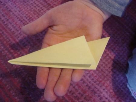 Papier-Stern Schritt 3