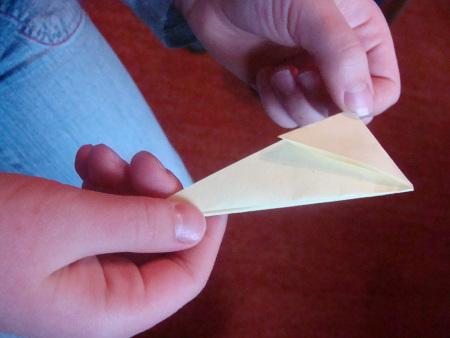 Papier Stern Schritt 7