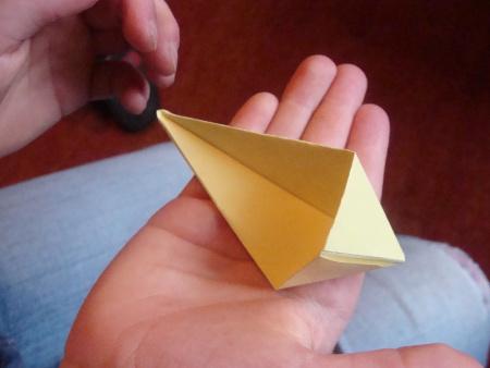 Papier-Stern Schritt 9