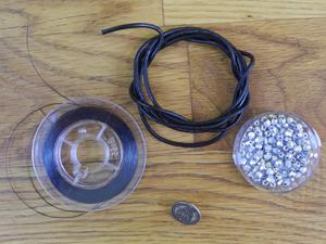 Material für das Wickelarmband