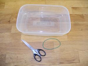 Hilfsmittel zur Anfertigung des Wickelarmbands