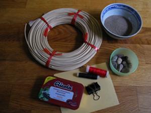 Material für den Mini Zen-Garten